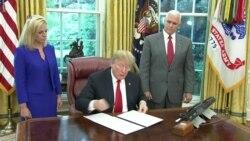 Trump firma decreto sobre separación de familias