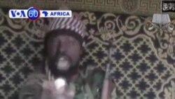 VOA60 Afirka: Abubakar Shekau Yace Sune Suka Kai Farmaki a Kan Sansanin Soja a Maiduguri, Disamba 13, 2013