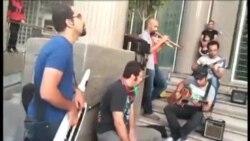 کمپین حمایت از نوازندگان خیابانی در ايران