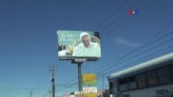 Papa Francisco se despide de Mexico en frontera estadounidense