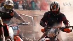 Ba Lan: Đua xe mô tô ở mỏ than