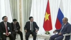 Tổng thống Putin ca ngợi hợp tác Việt-Nga đầy thành quả