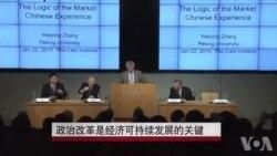中国学者:政治改革是经济可持续发展的关键