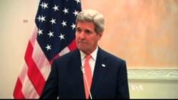 Kerry, Al-Jubeir Discuss Yemen Cease-fire in Saudi Arabia