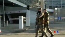2015-01-18 美國之音視頻新聞: 比利時街頭部署軍隊防範恐怖襲擊