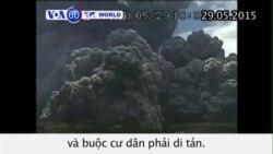 Phun trào núi lửa tại Nhật Bản buộc cư dân di tản (VOA60)