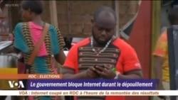 Le gouvernement bloque Internet pendant le dépouillement