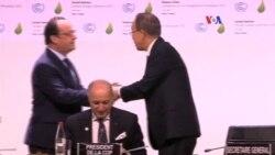 Líderes mundiales piden acuerdo vinculante
