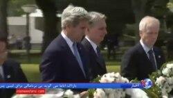 دیدار تاریخی کری از بنای یادبود قربانیان بمباران هیروشیما
