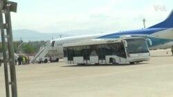 美国遣送大批非法入境海地人回国