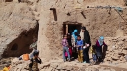 Afghan Female Student Runs Classroom from Ancient Cave