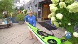 Нью-Йорк переживає бум веслування. Відео