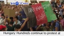 VOA60 World - Thousands Stranded at Budapest Train Station - September 2, 2015