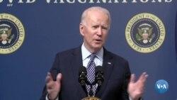 Senado americano considera o pacote de estímulo de US $ 1,9 trilião de Biden