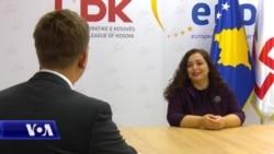 Intervistë me Vjosa Osmanin