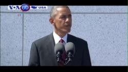 TT Obama khánh thành đài kỷ niệm thương binh Mỹ