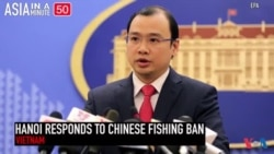 China Forbids Vietnam to Fish in Territorial Waters