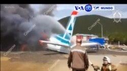 Manchetes Mundo 27 Junho 2019: Despenhou-se avião na Rússia