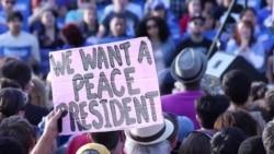 希拉里获奥巴马支持 桑德斯暂不退选