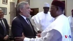 Visite de deux jours du président du parlement européen au Niger (vidéo)