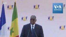 """Covid-19: le président sénégalais demande un """"allégement conséquent""""' de la dette africaine"""