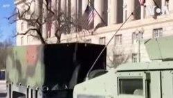 Jeshi likifanya doria Washington DC, baada ya tukio la uvamizi bungeni