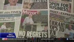 Gazetarët të shqetësuar për lirinë e shtypit në Britani gjatë pandemisë