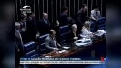 2016-08-28 美國之音視頻新聞: 羅塞夫將就彈劾案回應巴西國會
