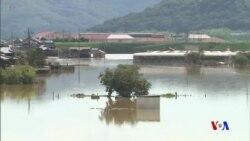 日本超級豪雨導致100多人喪生 首相取消外訪