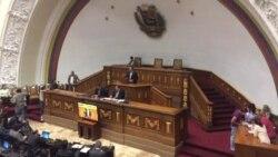 Asamblea Nacional de Venezuela rechaza la Constituyente