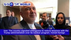 VOA60 World - Iran signals it is willing to reduce tensions with the Trump administration over its nuclear program