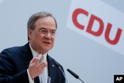 Ocak ayında CDU'nun Genel Başkanlığı'na seçilen Armin Laschet