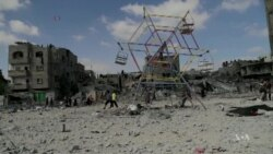 No Improvement in Gaza 1 Year After War