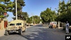خودروهای ارتش افغانستان در قندوز