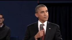 2012-10-17 美國之音視頻新聞: 第二場總統辯論 奧巴馬羅姆尼激烈交鋒