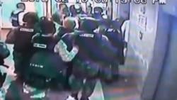 Cámaras de seguridad captan arresto de Ledezma
