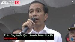 Indonesia phản ứng về lệnh cấm du hành của Mỹ (VOA60 châu Á)