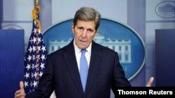 美國氣候特使約翰·克里(John F. Kerry)。