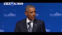 TT Obama: Biến đổi khí hậu là 'mối đe dọa cấp bách' (VOA60)