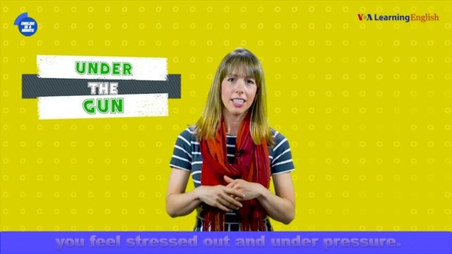 English in a Minute: Under the Gun - October 05, 2019