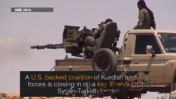 On The Scene: Kurdish, Arab Forces Gain Ground Against IS