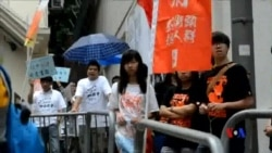 2014-05-11 美國之音視頻新聞: 香港活動人士爭取擴大選民權