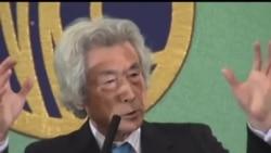 2013-11-12 美國之音視頻新聞: 日本前首相小泉純一郎談日中關係與核能