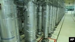 지난 2019년 11월 이란 나탄즈 우라늄 농축 시설의 원심분리기.