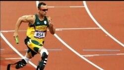 2013-02-14 美國之音視頻新聞: 南非奧運選手皮斯托利斯因槍擊案被拘留