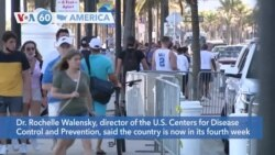 VOA60 Ameerikaa - CDC says U.S.is now in its fourth week of rising COVID-19 infections