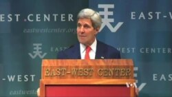 Kerry: Law, Not Coercion, Key to South China Sea Disputes