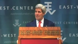 Kerry: Law, Not Coercion, Key to South China Sea Disputes