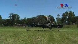 Uçan Motosiklet Yolda