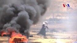 Israel dispersa manifestantes palestinos usando drones